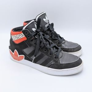 Adidas Men's Shoes High Top Lace Up Sneakers